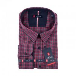Červenomodrá kostičkovaná košile Tonelli 110992