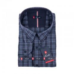 Šedá károvaná košile Tonelli 110994