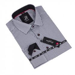 Košile Brighton bíločerná 109804