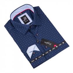 Košile Brighton modrobílý vzor 110019